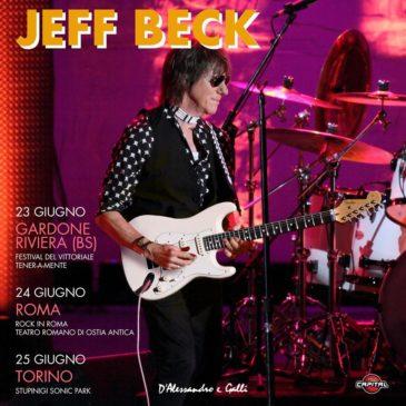 Jeff Beck - 3 date a giugno 2018