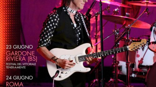 Jeff Beck - Italian Tour 2018 - Promo