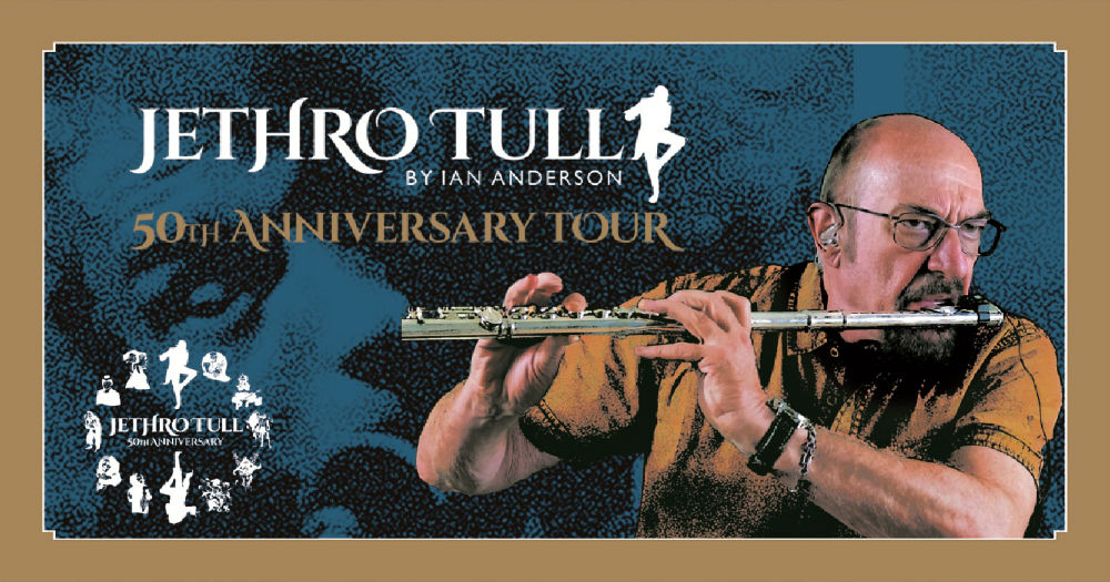 Jethro Tull By Ian Anderson - 50Th Anniversary Tour 2018 - Promo