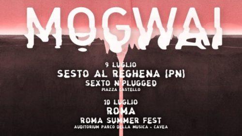 Mogwai - Italian Tour 2018 - Promo