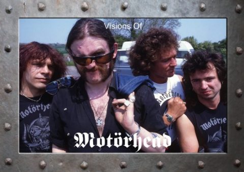 Motorhead - Visions Of Motorhead - Book Cover