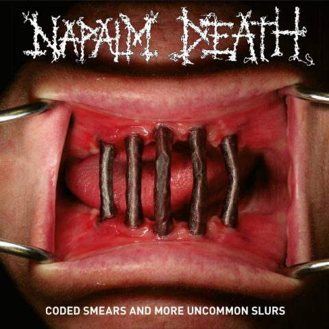 Napalm Death - Coded Smears And More Uncommon Slurs - Album Cover