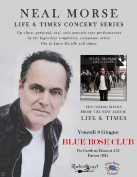 Neal Morse - Milano @ Blue Rose Club