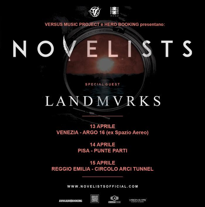 Novelists - Landmvrks - Tour 2018 - Promo