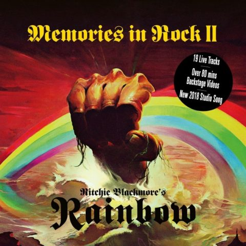 Ritchie Blackmore's - Rainbow - Memories In Rock II - Album Cover
