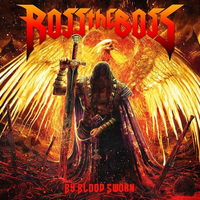 Ross The Boss - By Blood Sword - Album Cover