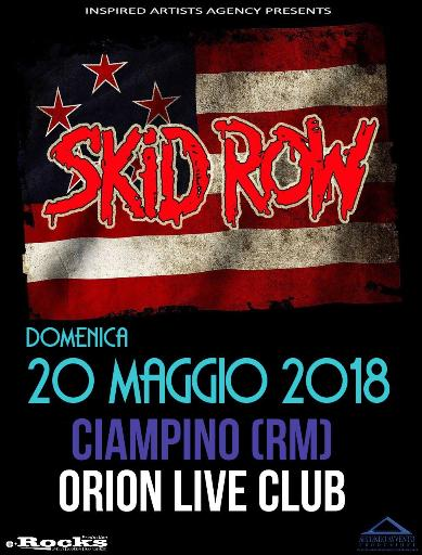 Skid Row - Orion - Italian Tour 2018 - Promo