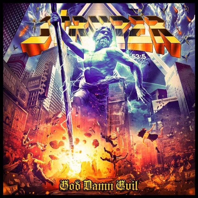 Stryper - God Damn Evil - Album Cover
