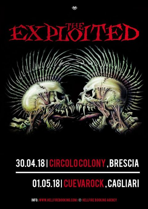 The Exploited - Italian Tour 2018 - Promo