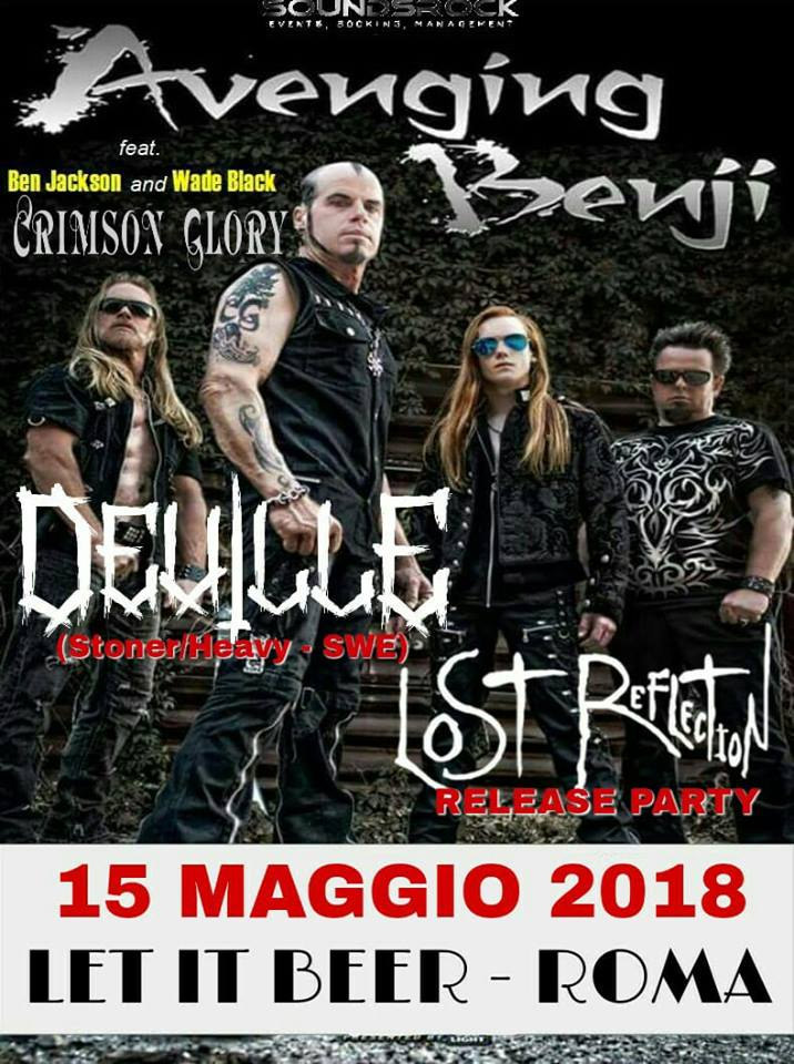 Avenging Benji - Deville - Lost Reflection - Let It Beer - Live 2018 - Promo