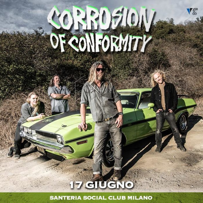 Corrosion Of Conformity - Santeria Social Club - Live 2018 - Promo