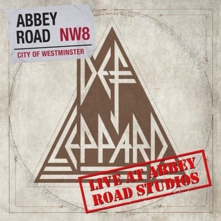 Def Leppard - Live At Abbey Road Studios - EP Cover