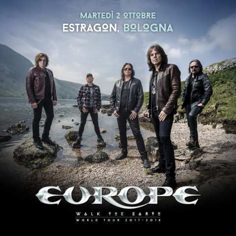 Europe - Estragon - World Tour 2018 - Promo