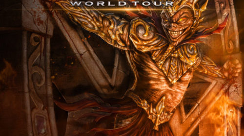 Iced Earth - Phenomenon - Incorruptible World Tour 2018 - Promo