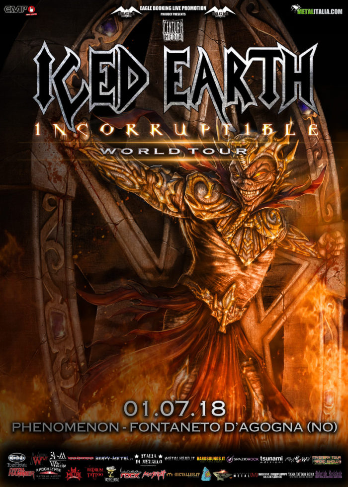 Iced Earth - Phenomenon - Incorruptible World Tour 2018 - Promo