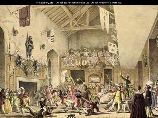 Jethro Tull - Joseph Nash original painting