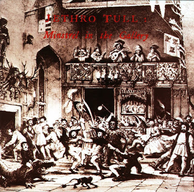 Jethro Tull - Minstrel In The Gallery 1975 - front