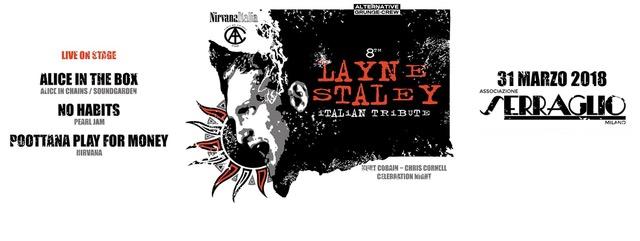 Layne Staley Italian Tribute - Serraglio - Live 2018 - Promo