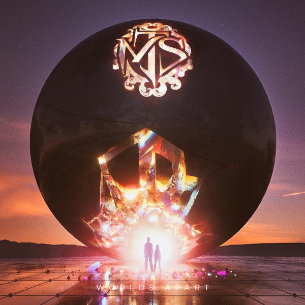 Make Them Suffer - Worlds Apart - Album Cover