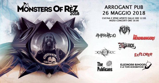 Monsters Of Rèz @ Reggio Emilia @ Arrogant Pub
