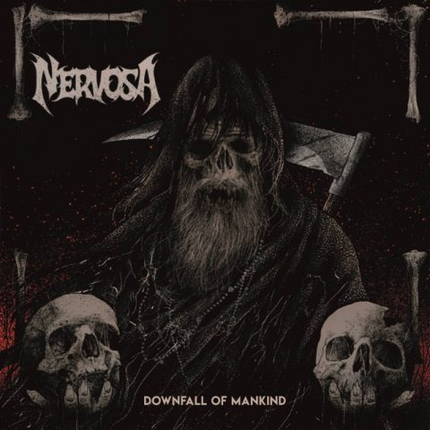 Nervosa - Downfall Of Mankind - Album Cover