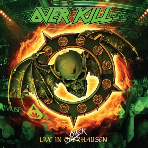 Overkill - Live In Overhausen - Album Cover