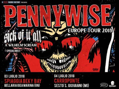 Pennywise - Sick Of It All - A Wilhelm Scream - Europe Tour 2018 - Promo