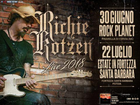 Richie Kotzen - Live 2018 - Promo