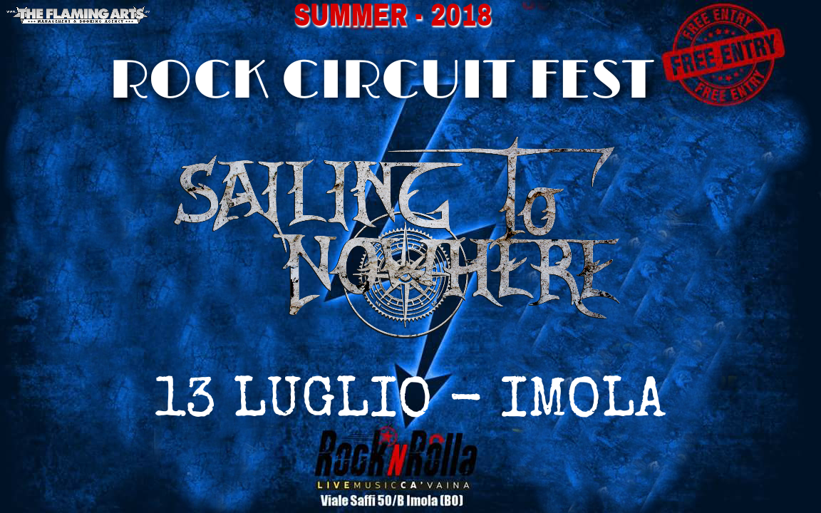 Sailing To Nowhere - Rock Circuit Festival - Live 2018 - Promo