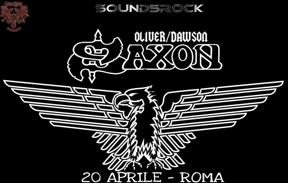 Saxon - Oliver - Dawson - Let It Beer - Tour 2018 - Promo
