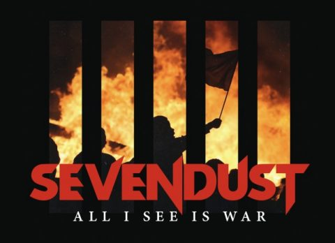 Sevendust - All I See Is War - Album Cover
