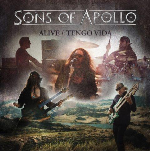 Sons Of Apollo - Alive Tengo Vida - EP Cover
