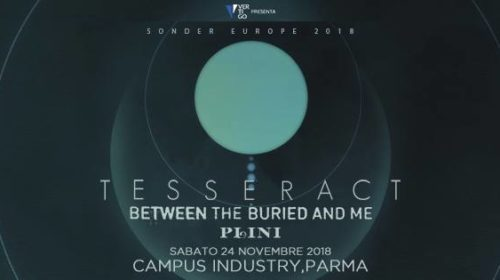 Tesseract - Between The Buried And Me - Plini - Campus Industry Music - Sonder Europe 2018 - Promo