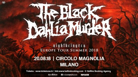 The Black Dahlia Murder - Nightbringers Europe Tour Summer 2018 - Promo