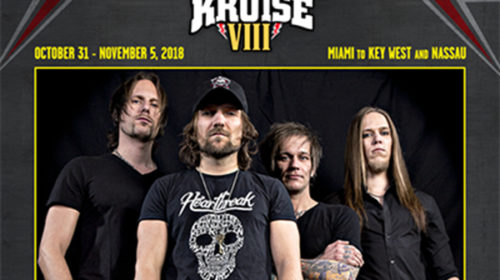 The New Roses at Kiss Kruise VIII - 31 10 2018 - 05 11 2018