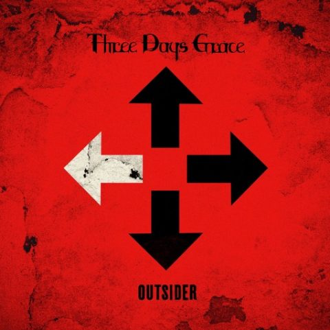Three Days Grace - Outsider - Album Cover