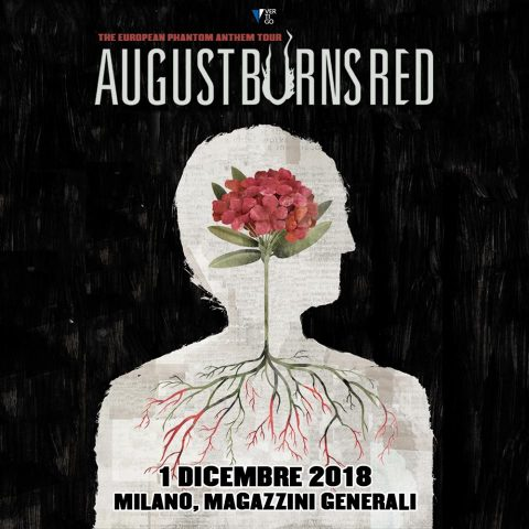 August Burns Red - Magazzini Generali - Europe Tour 2018 - Promo
