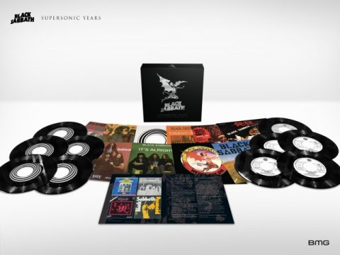 Black Sabbath - Supersonic Years The Seventies Singles Box Set - Box Set Cover