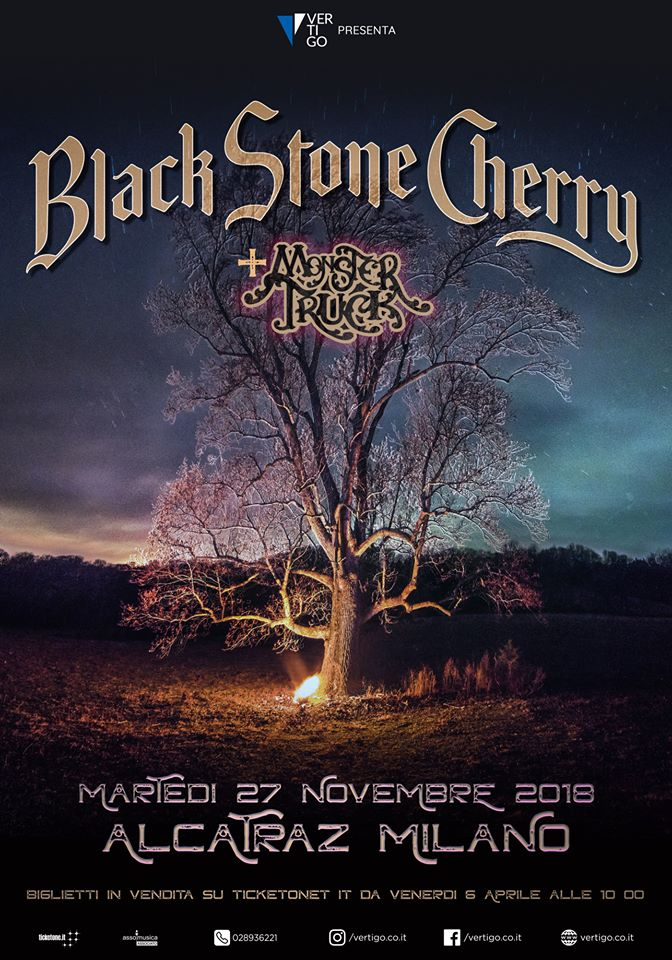Black Stone Cherry - Monster Truck - Alcatraz Tour 2018 - Promo