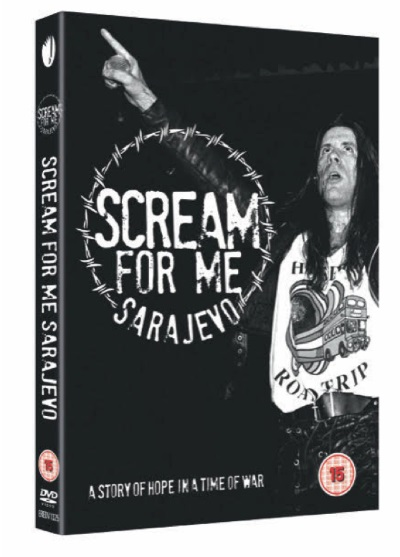 Bruce Dickinson - Scream For Me Sarajevo - DVD Cover