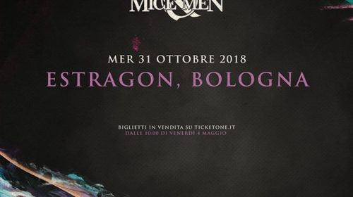 Bullet For My Valentine - Of Mice & Men - Estragon - Tour 2018 - Promo