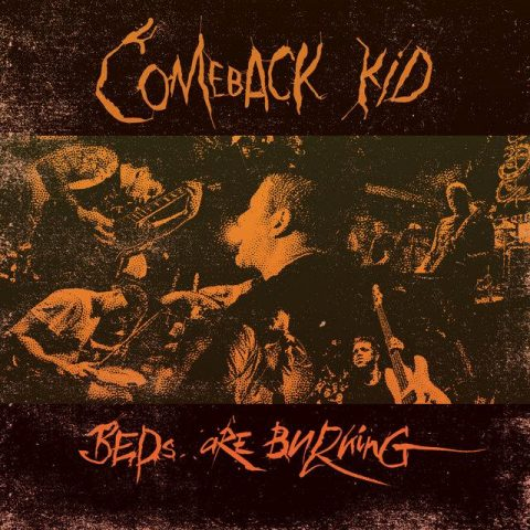 Comeback Kid - Beds Are Burning - Single Cover