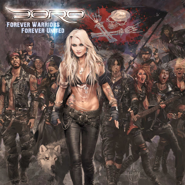 Doro - Forever Warriors Forever United - Album Cover