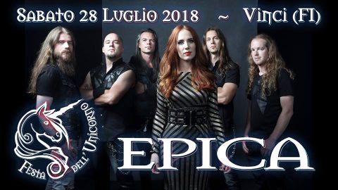 Epica - Festa Dell'Unicorno - Live 2018 - Promo