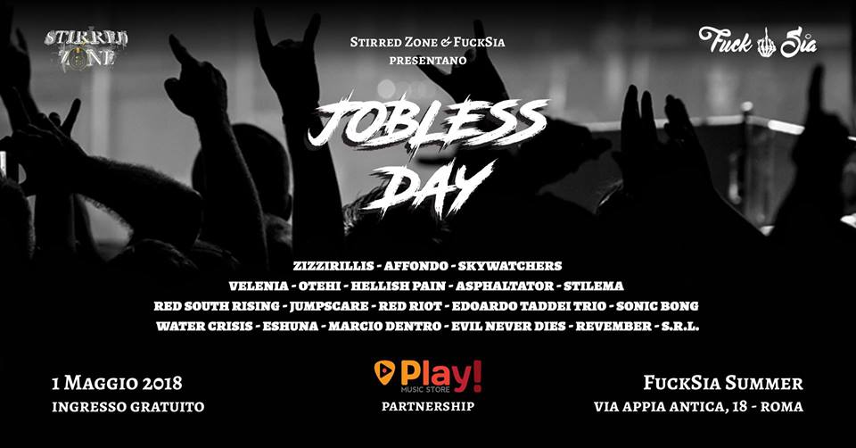 Jobless Day - Rock n Roll Garden - Appia Antica 2018 - Promo