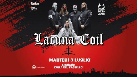 Lacuna Coil - Rugby Sound Festival - Live 2018 - Promo