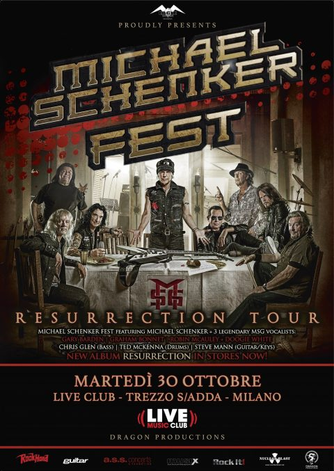Michael Schenker Fest - Live Club - Resurrection Tour 2018 - Promo