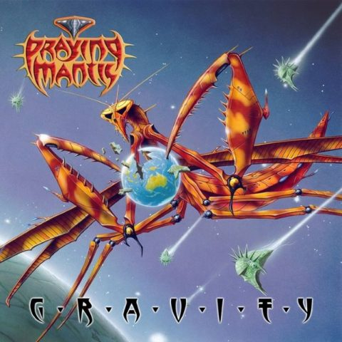 Praying Mantis - Gravity - Album Cover