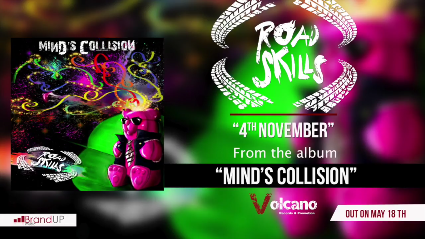 Roadskills - Mind's Collision - Album Cover