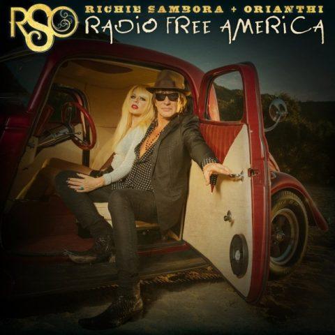 RSO - Richie Sambora - Orianthi - Radio Free America - Album Cover